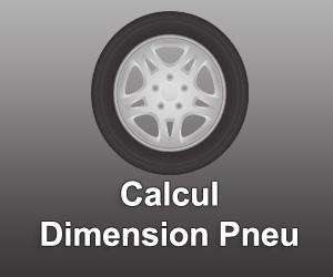 Calcul Dimension Pneu